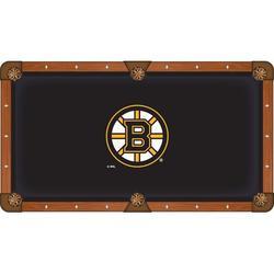 Holland Bar Stool NHL Pool Table Cloth, Size 112.0 H x 112.0 W in   Wayfair PCL9BosBru