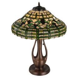 "Meyda Tiffany Guirnalda 27"" Table Lamp Metal in Brown/Gray, Size 27.0 H x 20.0 W x 20.0 D in | Wayfair 139418"