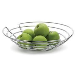 Blomus Wires Fruit Basket Stainless Steel in Gray, Size 3.4 H x 14.0 W x 14.25 D in   Wayfair 68481