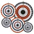 The Holiday Aisle® Patriotic Accordion Paper Fan Set Paper in Blue/Red/White   Wayfair THLA1352 39060291