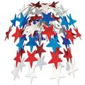 The Holiday Aisle® Patriotic Star Cascade in Blue/Red   Wayfair THLA1232 39060030
