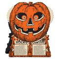The Holiday Aisle® Halloween-Vintage J-O-L Fortune Wheel Game in Black/Orange, Size 9.0 H x 7.5 W x 1.0 D in | Wayfair THLA7314 40479828
