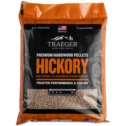 Traeger Wood-Fired Grills Traeger Hickory Hardwood Pellets, Size 23.0 H x 16.0 W x 2.0 D in | Wayfair PEL319