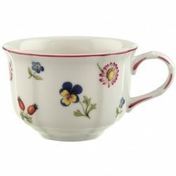 Villeroy & Boch Petite Fleur 7.5 oz. Tea Cup Porcelain/Ceramic in White, Size 3.7 H x 12.6 W in | Wayfair 1023951270