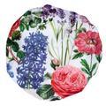 August Grove® Keaton English Garden Multiple Shower Cap Polyester in White | Wayfair 2AFBEEB1C8A849BA8A35E091C72FEB46