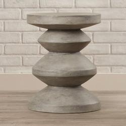 Trent Austin Design® Spitler Mixt Athen End Table in Gray, Size 20.5 H x 16.0 W x 16.0 D in   Wayfair 4A79C67E57D045D396CBBC94189167C8
