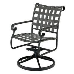 Woodard Ramsgate Rocking Chair w/ CushionsMetal in Gray/Black, Size 35.0 H x 23.0 W x 25.0 D in | Wayfair 160472SB-92-22M