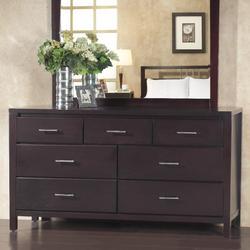 Nevis Seven Drawer Dresser in Espresso - Modus NV2382