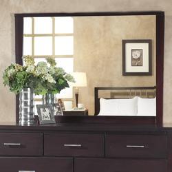 Nevis Landscape Mirror In Espresso - Modus NV2383LG