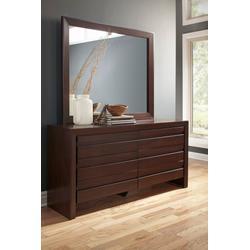 Element Mirror in Chocolate Brown - Modus 4G2283