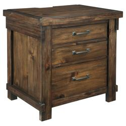 Signature Design Lakeleigh Three Drawer Night Stand - Ashley Furniture B718-93