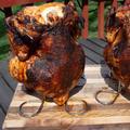 FlashPoint Chicken Roaster Steel in Brown/Gray, Size 2.5 H x 6.0 W x 6.0 D in | Wayfair 8100-021