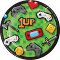The Holiday Aisle® Mckenzie Video Game Party Paper Appetizer Plate Paper in Green | Wayfair 036BB817FCB24AADB3D9E5BD91FBAB68