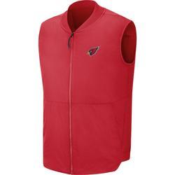 Men's Arizona Cardinals Nike Cardinal Sideline Full-Zip Vest