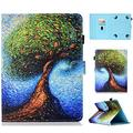Cookk Uinversal Case Cover for 9.5-10.5 Inch Tablet, Kindle Fire HD 10,iPad 9.7 Inch,Galaxy Tab 10.1/9.7 Tablet,Galaxy Tab S4 10.5 Inch,T830,T590, Life Tree
