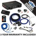 Kicker 44KXA16001 Car Audio Sub Amp KXA1600.1 & 1/0 GA Amplifier Accessory Kit - 3 Year Warranty!