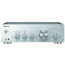 Pioneer A-70DA(S) Amplificateur stéréo intégré (convertisseur N/A, Puissance 2 x 90 W, préamplificateur symétrique, USB, entrée Phono MM/MC analogique, Finition Aluminium de Haute qualité) Argent