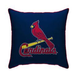"""Blue St. Louis Cardinals 18"""" x Plush Team Logo Decorative Throw Pillow"""