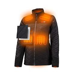 Milwaukee 233B M12 Black Heated Women's AXIS Jacket Kit, Size XLarge Extra Large
