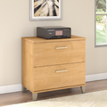 Somerset Lateral File Cabinet in Maple Cross - Bush Furniture WC81480