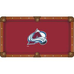 Holland Bar Stool NHL Pool Table Cloth, Size 112.0 H x 112.0 W in | Wayfair PCL9ColAva
