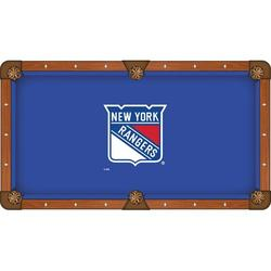 Holland Bar Stool NHL Pool Table Cloth, Size 112.0 H x 112.0 W in | Wayfair PCL9NYRang