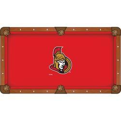 Holland Bar Stool NHL Pool Table Cloth, Size 104.0 H x 104.0 W in   Wayfair PCL8OttSen