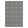 WestHaven Indoor Rugs Ivory/ - Ivory & Navy Trefoil Tiles Maritime Indoor/Outdoor Rug