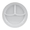 "GET CP-531-W 10"" Melamine Dinner Plate, White"