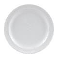 "GET DP-506-W 6 1/2"" Melamine Salad Plate, White"