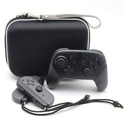 OSTENT Square EVA Protective Carry Case Bag Storage for Nintendo Switch Pro Controller
