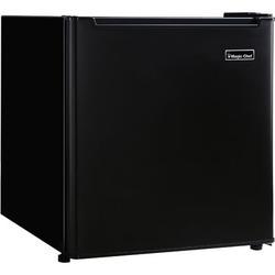Magic Chef 1.7 cu. ft. Freestanding Mini Fridge in Black, Size 19.5 H x 17.3 W x 18.9 D in   Wayfair MCAR170BE