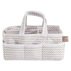 Harriet Bee Valentino Crib Diaper Stacker in Gray/White, Size 8.0 W x 6.0 D in | Wayfair 1E71162EAF9347888437C94C07031274