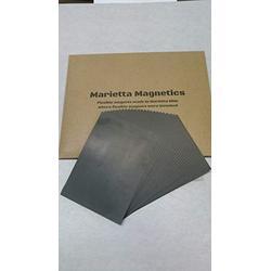 "Marietta Magnetics- 8"" x 10"" Plain Magnetic sheets 20 Mil 25 pack"