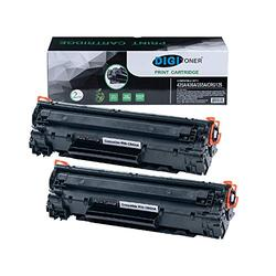 DIGITONER Compatible HP 85A CE285A CB435A CB436A CRG125 Toner Cartridge – CB 435A CB 436A CE 285A CRG 125 High Yield Toner Cartridge Replacement for HP Laser Printer – Black [2 Pack]