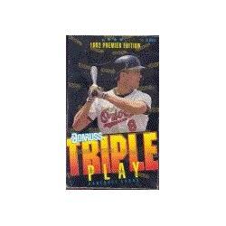 1992 Donruss Premier Edition Triple Play MLB Baseball Cards Unopened Box