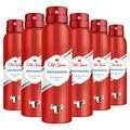 Old Spice Whitewater Déodorant spray pour homme 150 ml – Lot de 6