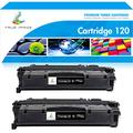 True Image Compatible Toner Cartridge Replacement for Canon 120 CRG-120 Toner Cartridge Canon ImageClass D1120 D1150 D1550 D1320 D1350 D1150 D1100 D1120 D1170 D1180 Toner Printer Ink (Black, 2-Pack)