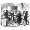 Civil War Recruiting Nthe Recruiting Station On Broadway For DuryeeS Zouaves 5Th New York Volunteer Regiment Wood Engraving 1862 Poster Print by (18 x 24)