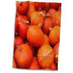 East Urban Home Bima Germany, Ludwigsburg, Bluhendes Barock Gardens, Fall, Pumpkins Hand Towel Microfiber/Terry/Cotton in Orange/Red | Wayfair