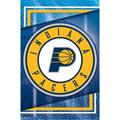 """""""Indiana Pacers 22'' x 34'' Logo Team Poster"""""""