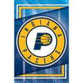 Indiana Pacers 22'' x 34'' Logo Team Poster
