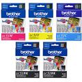New Genuine Brother Lc51 LC-51 Valu 5-pack, Full Set 1 Each Color + Extra Bla...