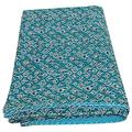 Indian Hand made Kantha Blanket , Bedspread , Bedding Sheet , Kantha quilt , Queen bedspreads , Bohemian Bedspread , Bohemian Bedding , Handmade Kantha Quilt , King Size Kantha Quilt , bed cover