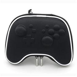 E-MODS GAMING Switch PRO Controller Carry Case EVA Hard Protective Case Bag for Nintendo Switch PRO Controllers - Black