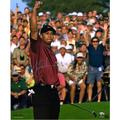 """Tiger Woods Autographed 20"""" x 24"""" 2001 Masters Photograph - Upper Deck"""