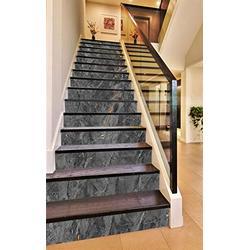 "3D Broken Gray 0963 Pattern Tile Marble Stair Risers Decoration Photo Mural Vinyl Decal Wallpaper Murals Wallpaper Mural AJ WALLPAPER US Maze (13x H:18cm x W:102cm (7""x40""))"