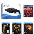 Pack PS4 500 Go + Marvel's Spiderman + Shadow of the Tomb Raider + COD BO 4 + Fallout 76