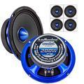 "2 Pair Audiopipe APMB-628PM 6"" Slim Mid Full Range Loud Car Audio Speaker Bullet 4 Ohm 800W"