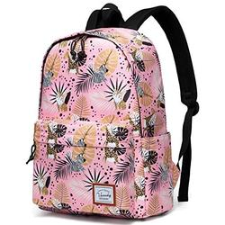 School Backpack for Girls,VASCHY Water Resistant Durable Casual Schoolbag Bookbag for Middle School Students in Pink Animal